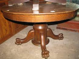 Antique Pedestal Dining Table Table Ravishing Round Antique Pedestal Side Table Choosing Antique