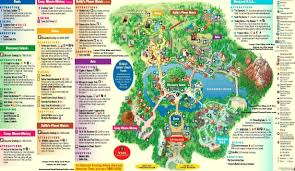 Magic Kingdom Map Orlando by Disney Animal Kingdom Map My Blog