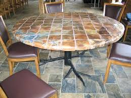 Round Stone Patio Table by Patio Ideas Rustic Patio Tables Rustic Patio Furniture For Sale