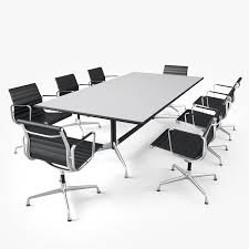 Vitra Conference Table Conference Table 3d Obj