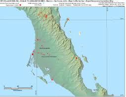 Mexico Hurricane Map by 2006184sbaja Jpg