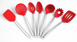 silicone cuisine 6 peças cuisine ustensiles de cuisson en silicone outils set buy