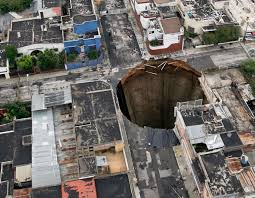 Sinkholes In Florida Map by Guatemala Sinkhole Created By Humans Not Nature