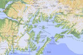alaska on map prince william sound alaska map