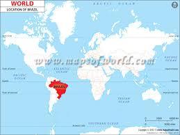 de janeiro on the world map where is brazil location of brazil