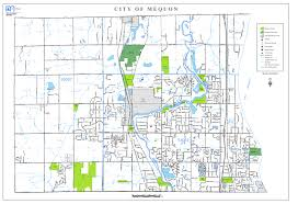 Maps Wisconsin by Engineering Department Maps City Of Mequon