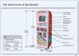nail printing auto vending machine somsatangnara co