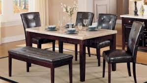 Dining Table For 4 Inspiring Marble Top Dining Table For 6 Dining Chairs Above