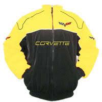 corvette racing jacket race car jackets corvette c6 racing jacket black and yellow