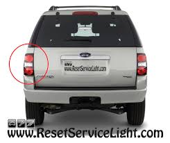 how to change the tail light assembly on ford explorer 2006 2010