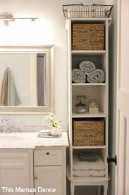 Bathroom Storage Cabinets Small Spaces Narrow Bathroom Storage Cabinet Safetylightapp