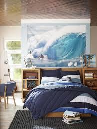 peinture murale chambre design interieur deco chambre enfant theme surf peinture murale