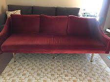 isola blue velvet sofa with gold metal legs lcis3bl by armen