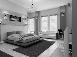 Leather Headboard Platform Bed Black And White Room Ideas With Accent Color White Chandelier