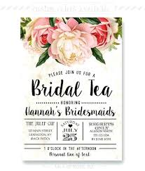bridesmaid luncheon invitation wording bridesmaids luncheon invitations and floral bridal luncheon