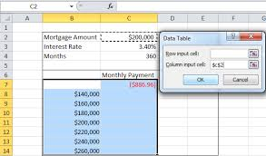 two way data table excel one way data table excel 100 images data table excel one way