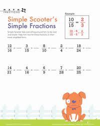 math worksheets math worksheets simplifying fractions