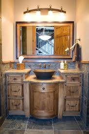 Rustic Bath Vanities Best 25 Rustic Bathrooms Ideas On Pinterest Country Bathrooms