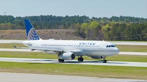 North Carolina travel air images United airlines airbus a320 jet airliner at raleigh durham png