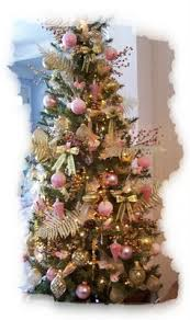 pink and gold christmas tree 12 december pinterest gold