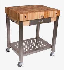 uncategorized best rolling butcher block with 4 wheels brown