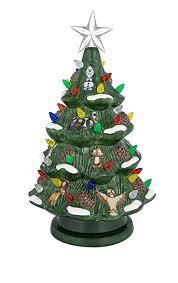 ceramic light up christmas tree disney parks retro ceramic light up christmas