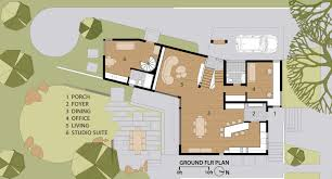 ground floor plan gallery of quarry house marina rubina 13