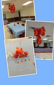 Basketball Centerpieces Blue And Orange Basketball Themed Baby Shower 10 5 13 Pinterest