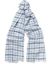light blue burberry scarf burberry check silk blend travel scarf where to buy how to wear