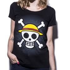 One Piece Map One Piece Skull With Map Women U0027s T Shirt G2a Gear