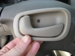 2002 Toyota Camry Interior Door Handle How To Fix Or Replace A Door Handle On A Toyota Corolla Axleaddict