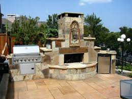lovely stone fireplace outdoor suzannawinter com