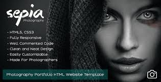 Photographers Websites Html Photography Website Templates From Themeforest