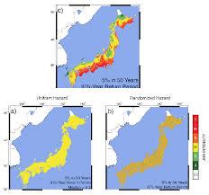 earthquake hazard map ruth and earthquake hazard maps