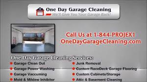 custom garage flooring nj by one day garage cleaning u0026 junk