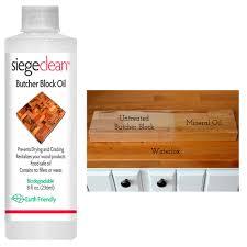 butcher block oil cutting board wood bamboo food grade safe