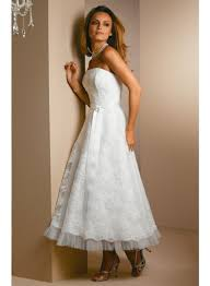 ankle length empire knee length strapless princess wedding dresses