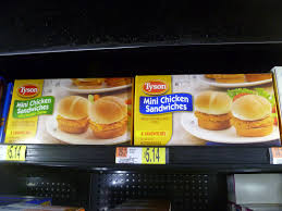 wal mart thanksgiving walmart shopping for tyson mini chicken sandwiches after