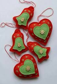 24 best felt ornaments images on