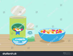 editable fruit style fruit salad cocktail ingredients stock vector