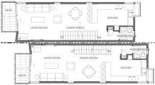 narrow house floor plans a solution for small house floor plans