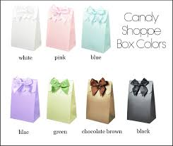 candy containers for favors sweet shoppe candy boxes dots and stripes set of 12 unique