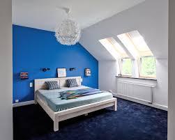 Schlafzimmer Beispiele Blaue Wände Schlafzimmer Mit Wandgestaltung Blau Ideen 3 434