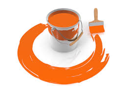 orange paint orange paint clipart clipartxtras