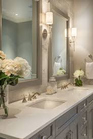 Free Standing Bathroom Vanities by United States Light Emperador Marble Bathroom Transitional With