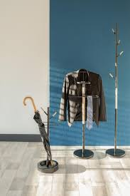 design garderobenstã nder schirmständer garderobenständer fushion schwarz 74x25 5cm