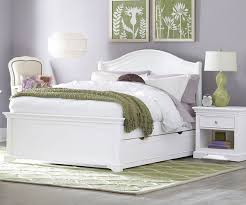 8015 and 8560 full morgan panel trundle bed white walnut street