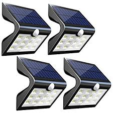 Solar Lights How Do They Work - 2nd version 14 led solar lights with rear projection outdoor