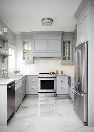 Gray Cabinets In Kitchen by Best 25 Kitchen Flooring Ideas On Pinterest Kitchen Floors