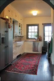 Kitchen Floor Runner by Kitchen Black And White Kitchen Rug Memory Foam Kitchen Rug